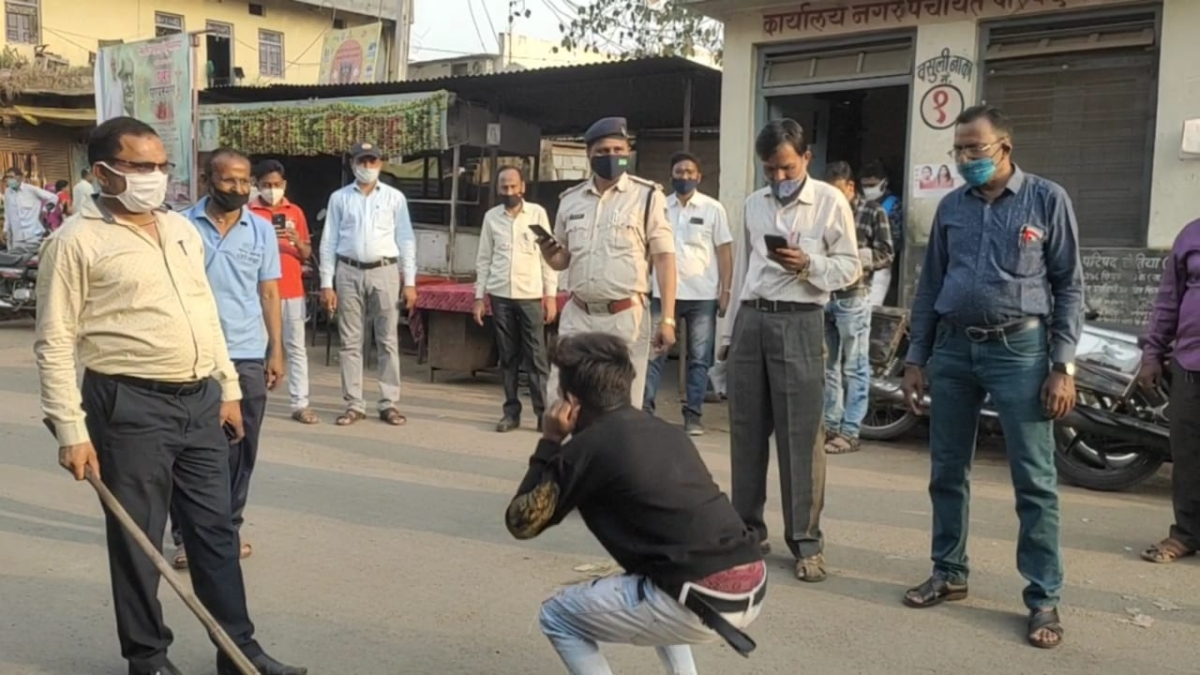 Madhya Pradesh: District administration, local police in Khetia intensify Covid check-drive, slap fine on violators