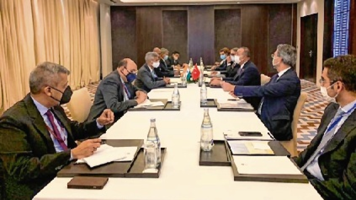 Jaishankar holds talks with Iranian, Turkish ministers, discusses bilateral relations