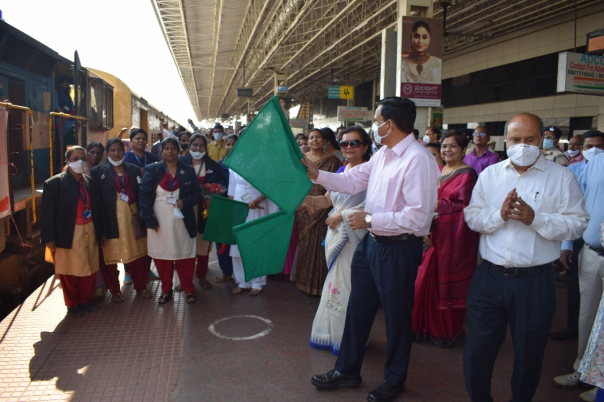 South Western Railway's Hubballi Division celebrates International Women's Day