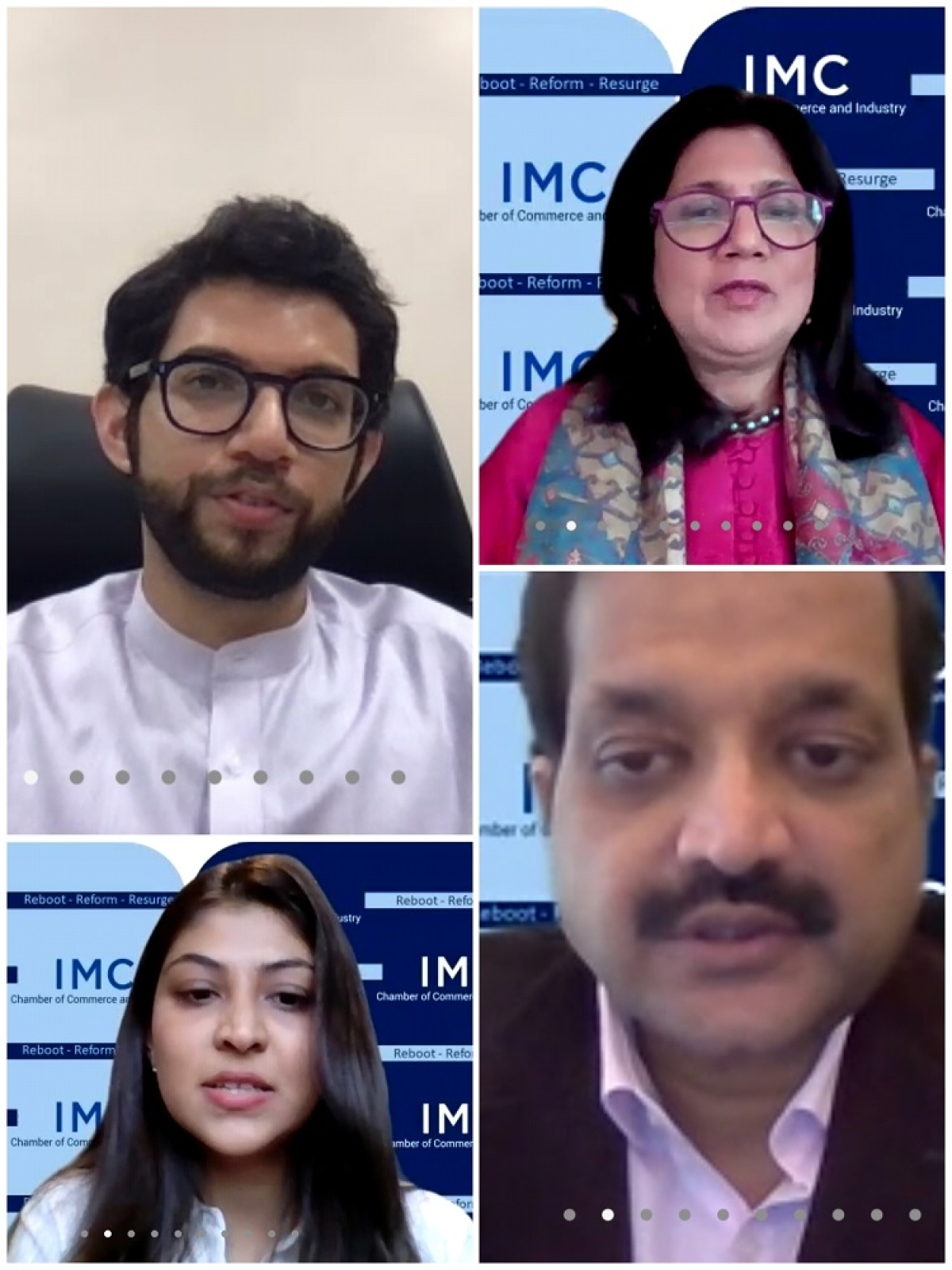 """IMC's Startups and Innovation Committee organises """"Energising the Startup Ecosystem in Maharashtra : A Conversation with Aaditya Thackeray"""""""