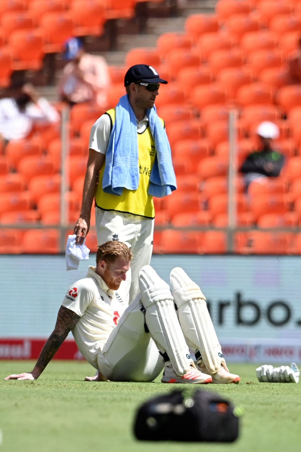 India vs England Test Series: Disappointment looms large on Stokes' face