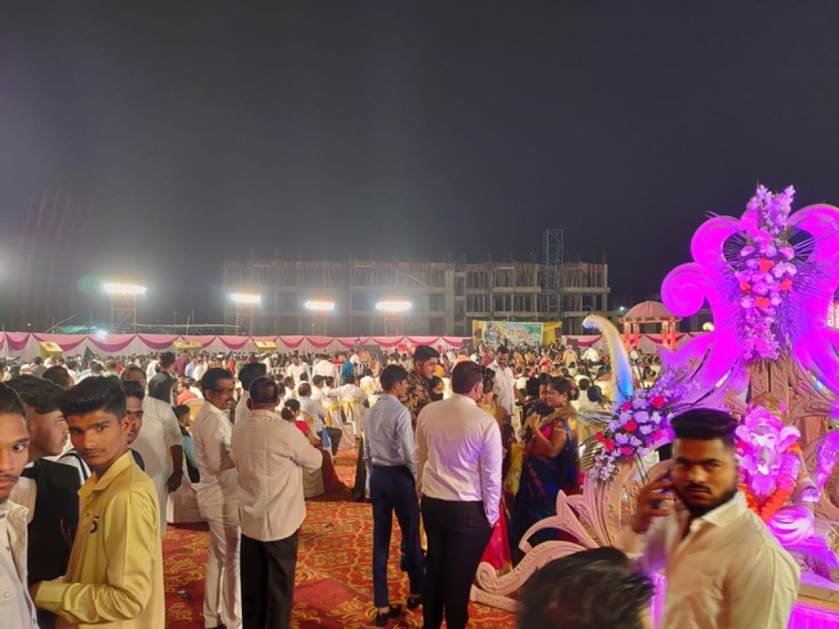 COVID-19 in Kalyan: FIR against organiser after spotting around 700 people flouting norms at a wedding ceremony