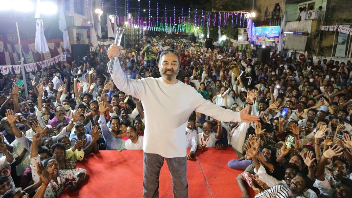 Tamil Nadu Assembly elections: Kamal Haasan's car attacked in Kancheepuram