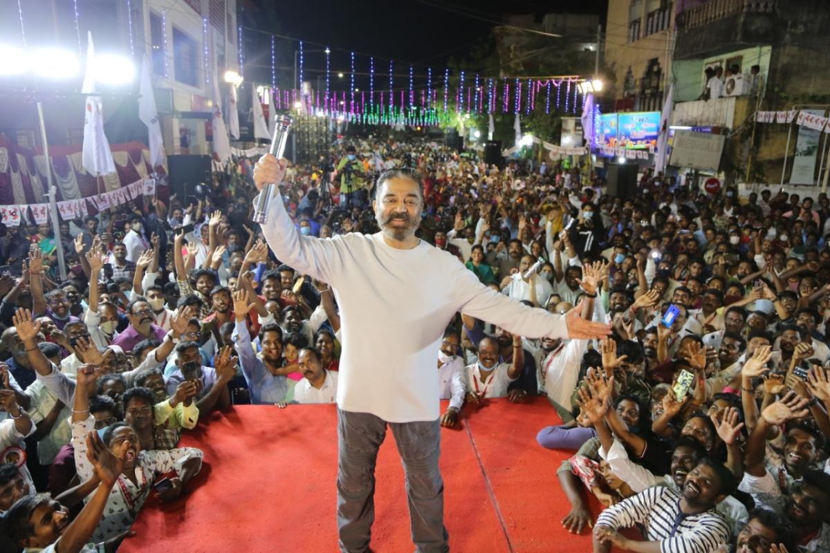 Kamal Haasan's MNM to contest 154 seats in Tamil Nadu assembly polls; allies AISMK, IJK get 40 seats each