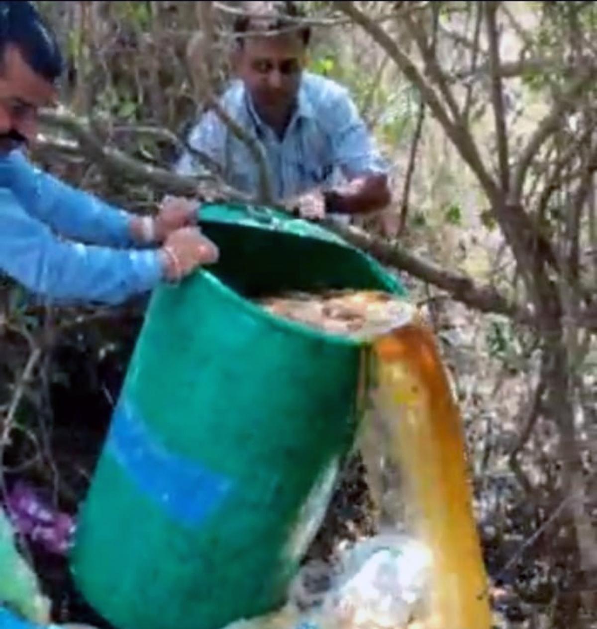 Mira-Bhayandar: Cops conduct raids in coastal areas, bust hooch den in twin city