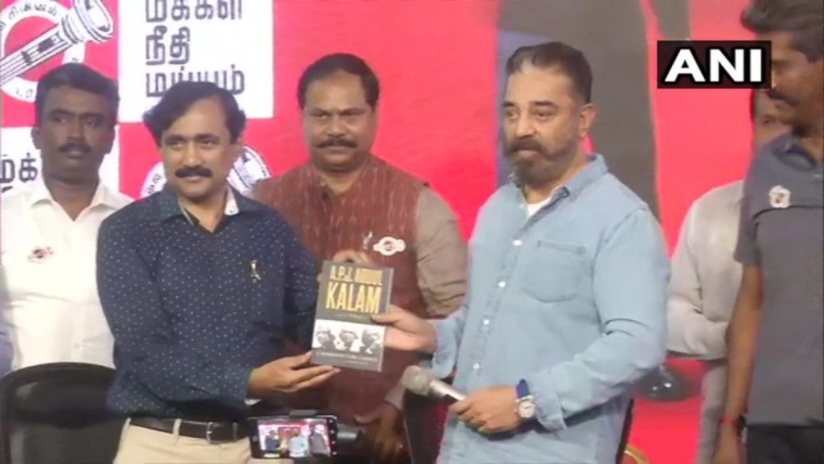 Tamil Nadu: Kamal Haasan appoints Dr APJ Abdul Kalam's scientific advisor V Ponraj as vice president of Makkal Needhi Maiam