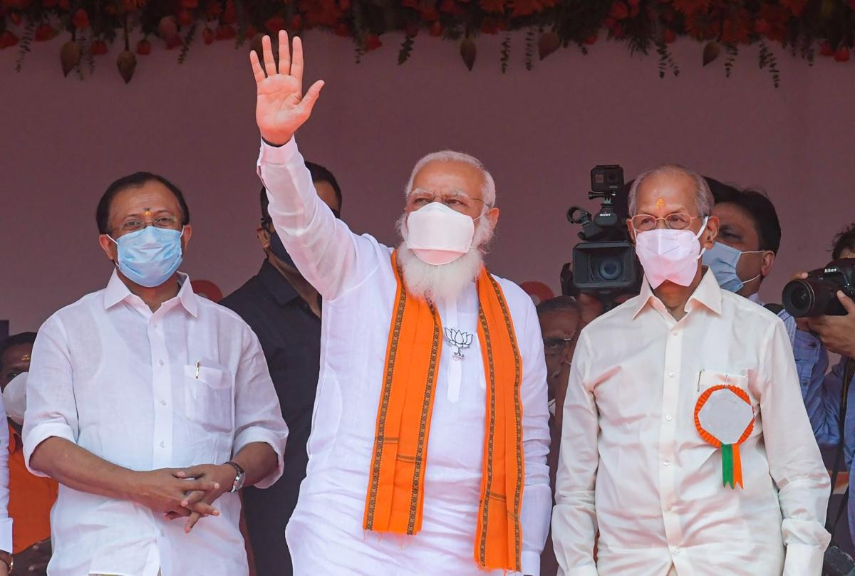 Kerala Assembly polls 2021: LDF govt betrayed people just as Judas did to Jesus, says PM Modi