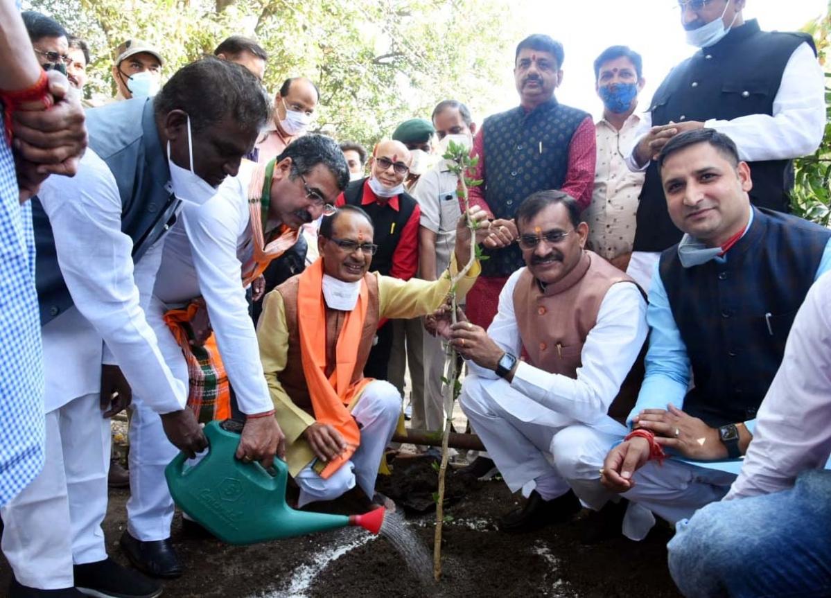 Bhopal: Chief Minister Shivraj Singh Chouhan birthday celebrated as Vriksha Mahotsav Day
