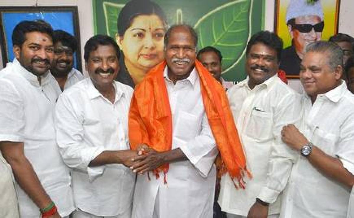 AINRC seals alliance with BJP, AIADMK in Puducherry