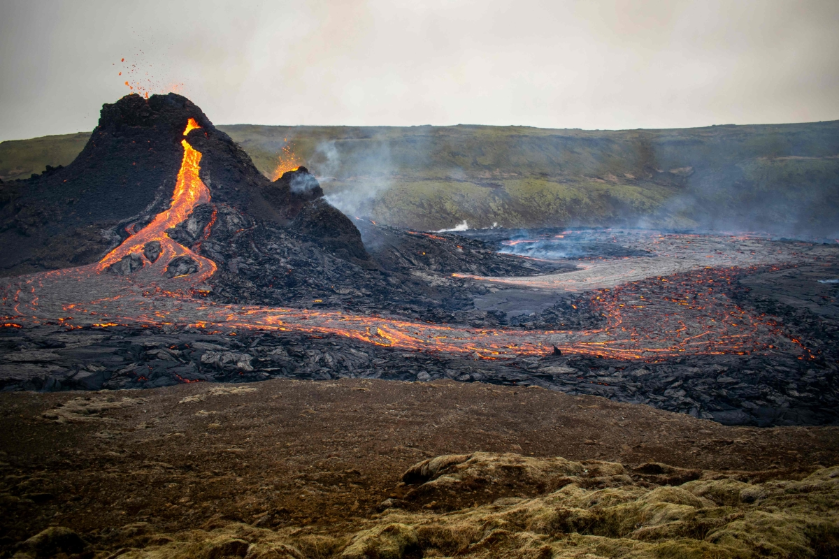 Watch: This drone footage of Icelandic volcano eruption will remind you of 'Mordor' in Lord of the Rings