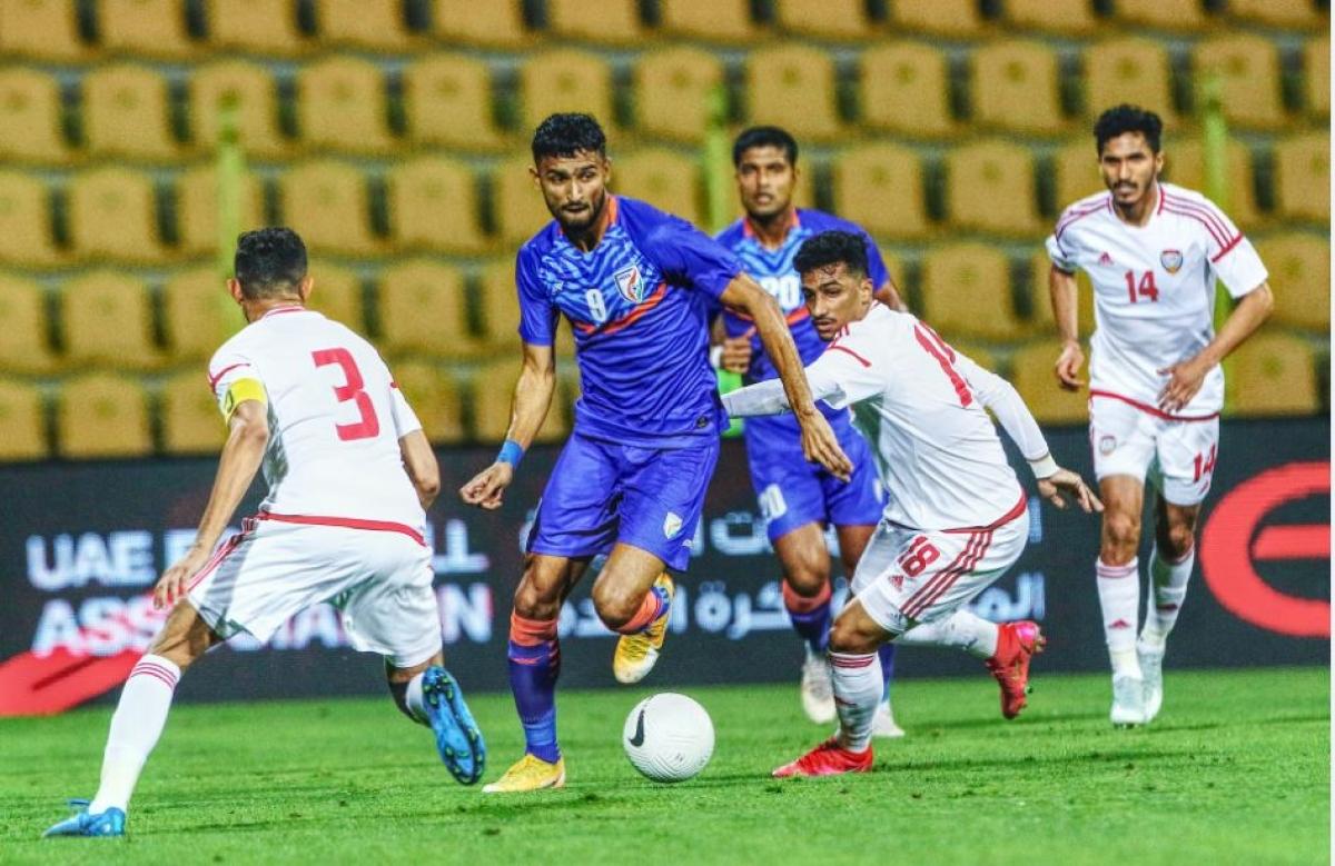 AIFF: UAE thrash India 6-0 in friendly