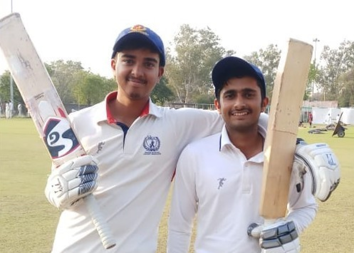 Indore: Lareb Ali, Tanmay and Vishal shine in inter-divisional Hiralal Gaikwad under-18 cricket competition
