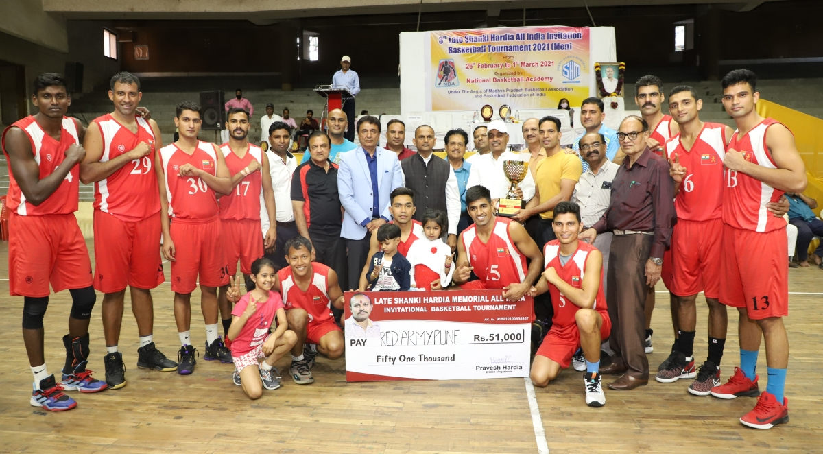 Indore: Army Red Pune defeat Punjab Police to win basketball tournament