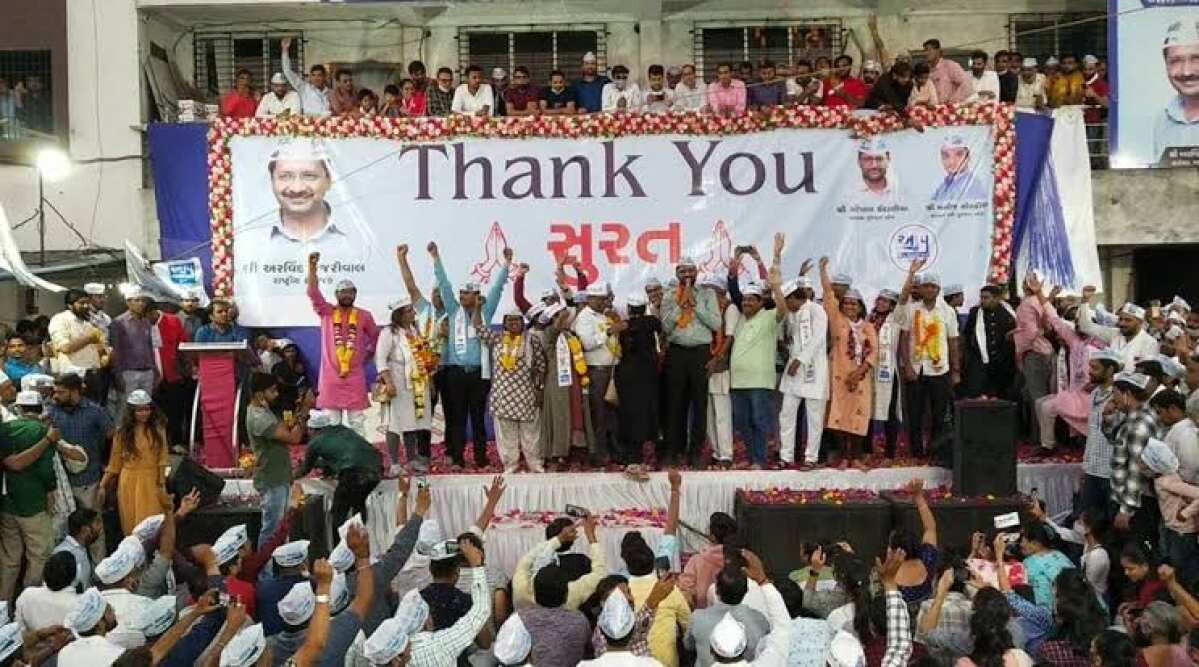 To become BJP's urban challenger, AAP must become more 'Aam', writes Bhavdeep Kang