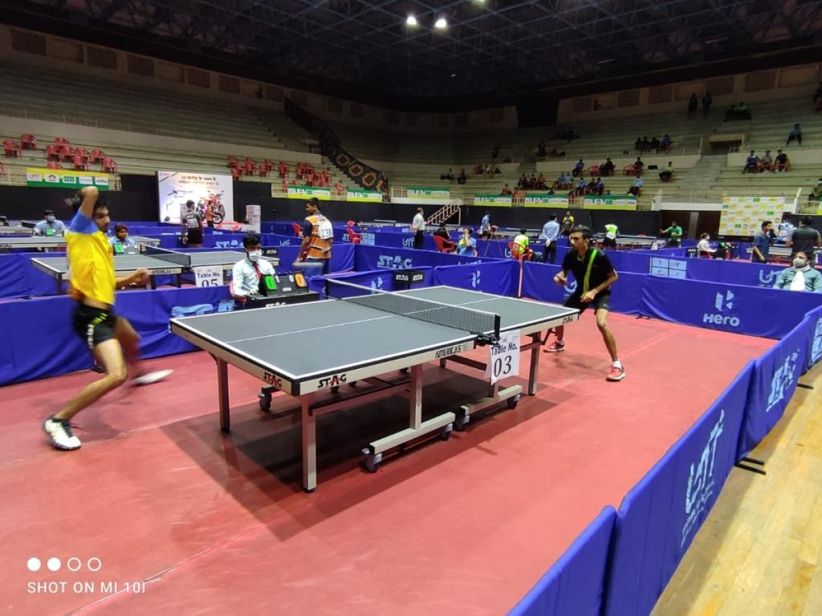 Indore: Snehit's 2nd-seed gives him distinct advantage in draw in table tennis championship