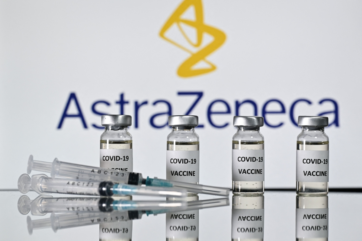 Link between AstraZeneca's COVID-19 vaccine and rare blood clots in the brain but cause unknown