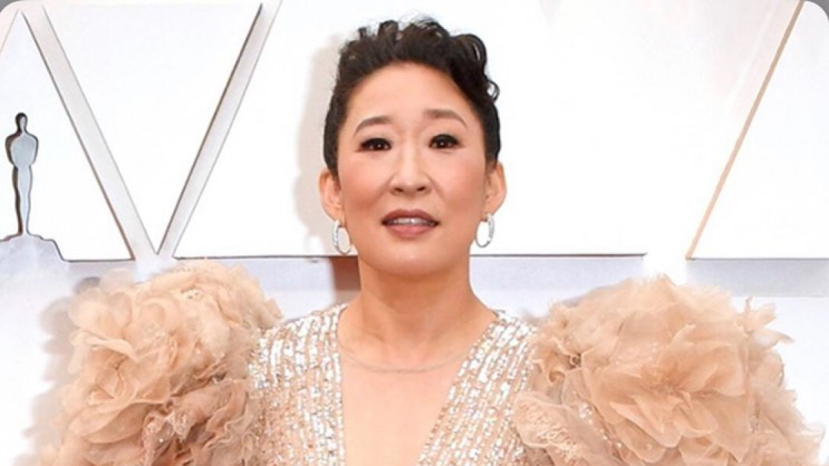 'I belong here': Amid surge in hate crimes, Sandra Oh delivers powerful speech at 'Stop Asian Hate' rally