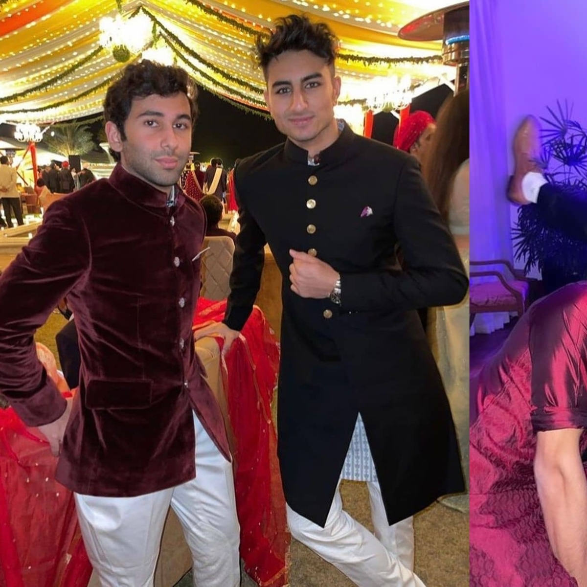 In Pics: Ibrahim Ali Khan makes a rare appearance at Punjab CM Captain Amarinder Singh's granddaughter's wedding