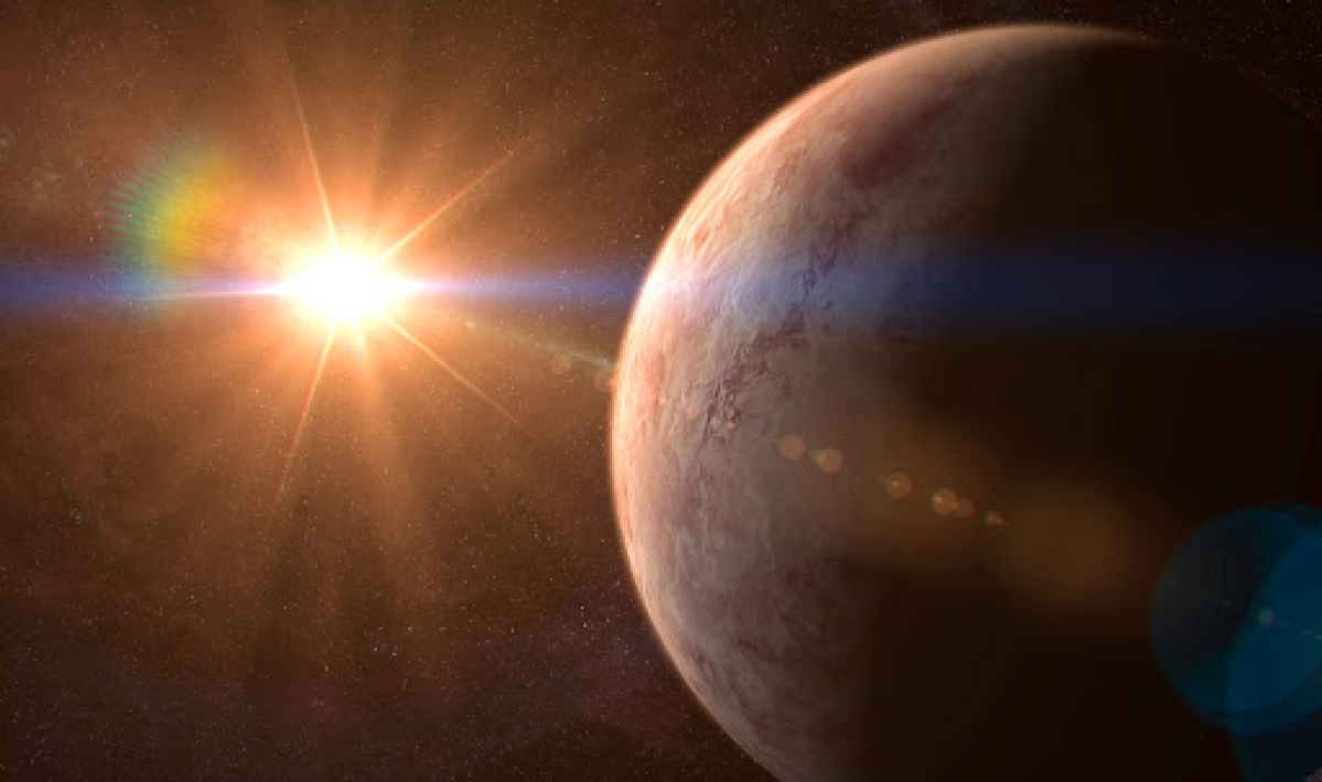 This hot, rocky 'super-Earth' is bigger than our planet