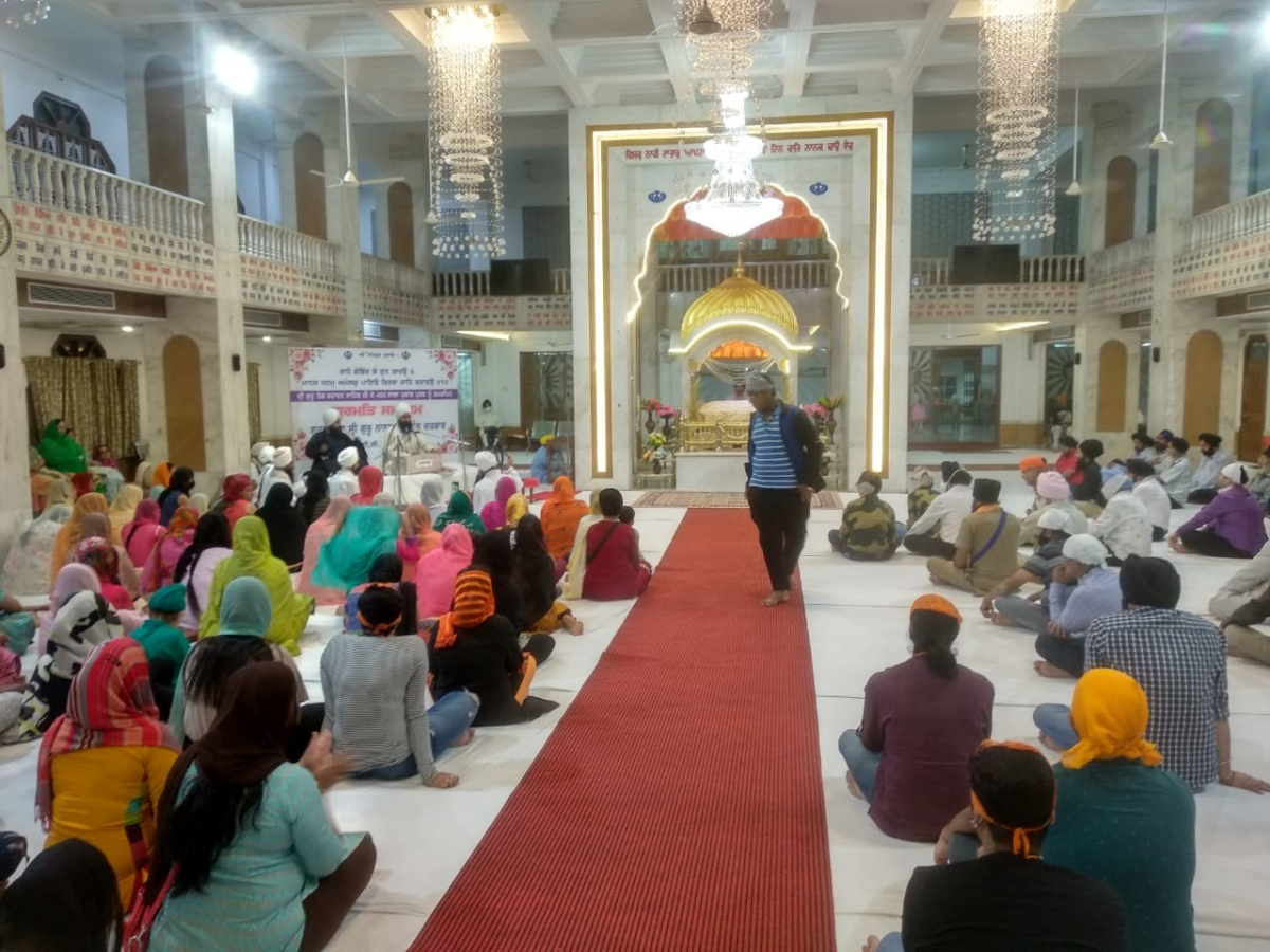 Indore: Sikhs remember preachings of Guru Tegh Bahadur whose 400th birth anniversary is being celebrated