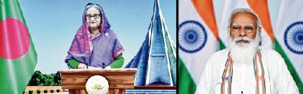 PM Modi opens 'Maitri Setu' between India, Bangladesh