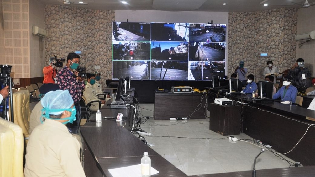 Indore: 24-hour Covid control room monitors home isolated patients