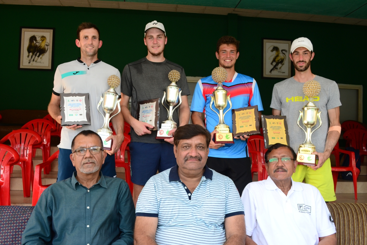 Indore: Kesselnuovo and Wenshelboim win doubles title in Puneet Agarwal Memorial tennis championship