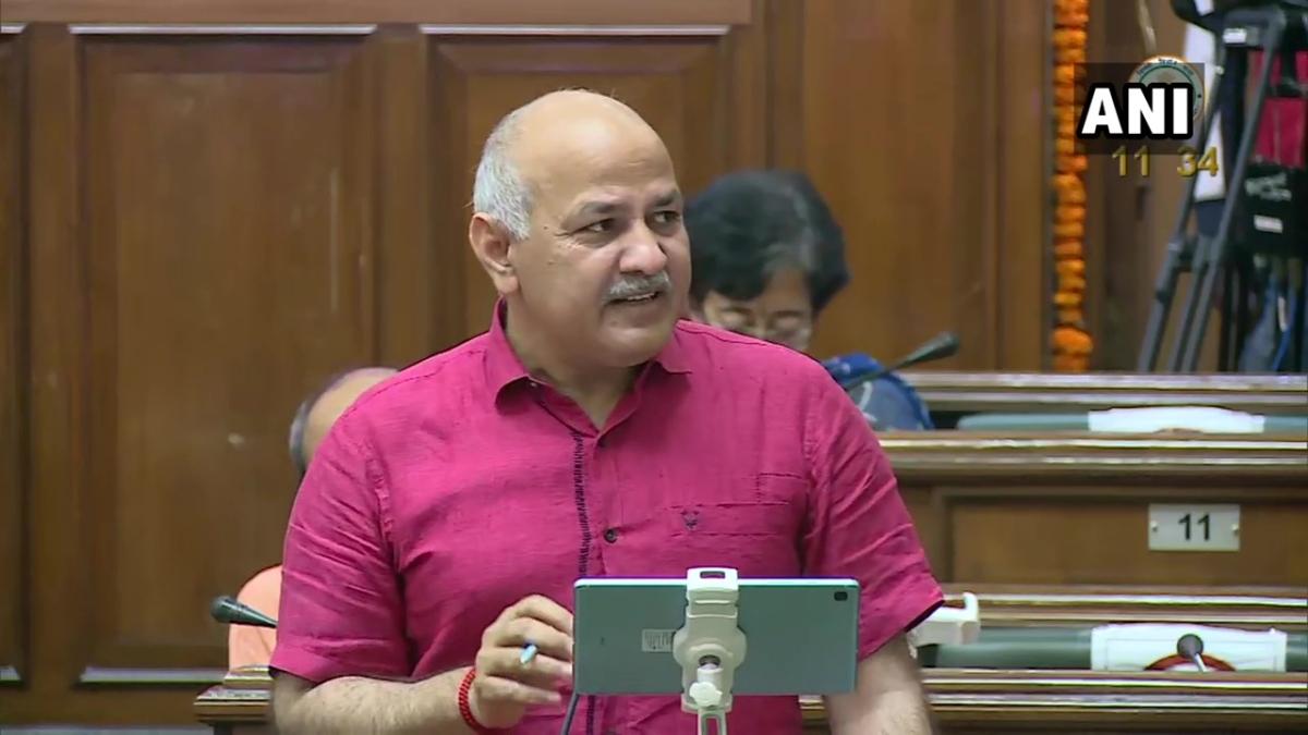 Manish Sisodia presents 'Deshbhakti Budget' of Rs 69,000 crore in Delhi Assembly