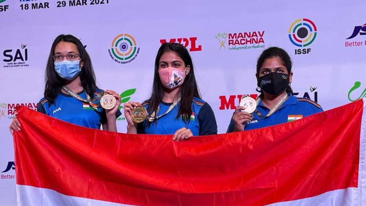 Bhopal: Winning streak of MP's Chinki continues, aims for another gold at ISSF World Cup