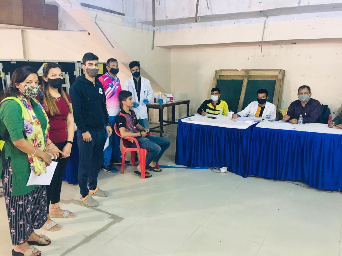 Indore: Snehit gets booster shot before national table tennis championship