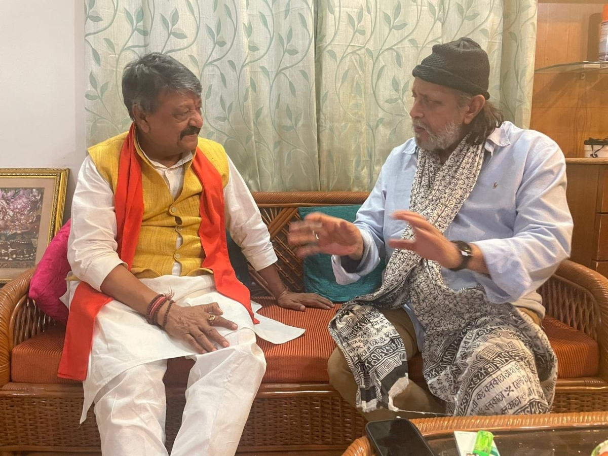 Mithun Chakraborty to attend PM Modi's mega rally in Kolkata today, confirms BJP's Kailash Vijayvargiya