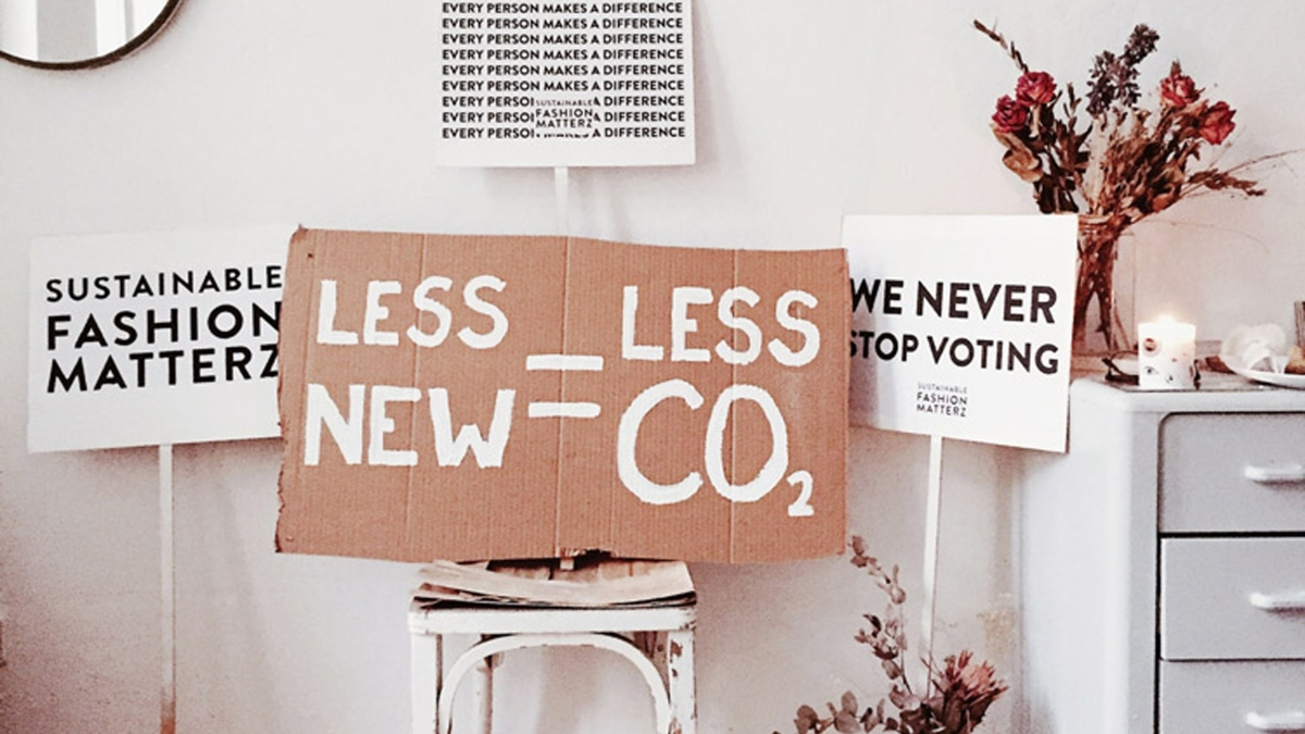 Sustainable fashion is gaining ground and is quickly turning into a habit