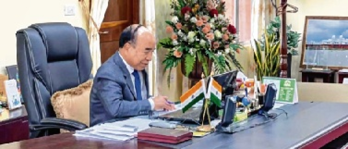 Mizoram CM Zoramthanga meets Myanmar Foreign Minister Zin Mar Aung over coup situation