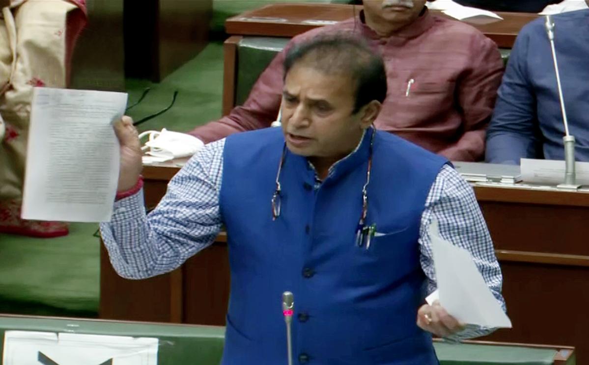 Mumbai: BJP demands Home Minister Anil Deshmukh's resignation