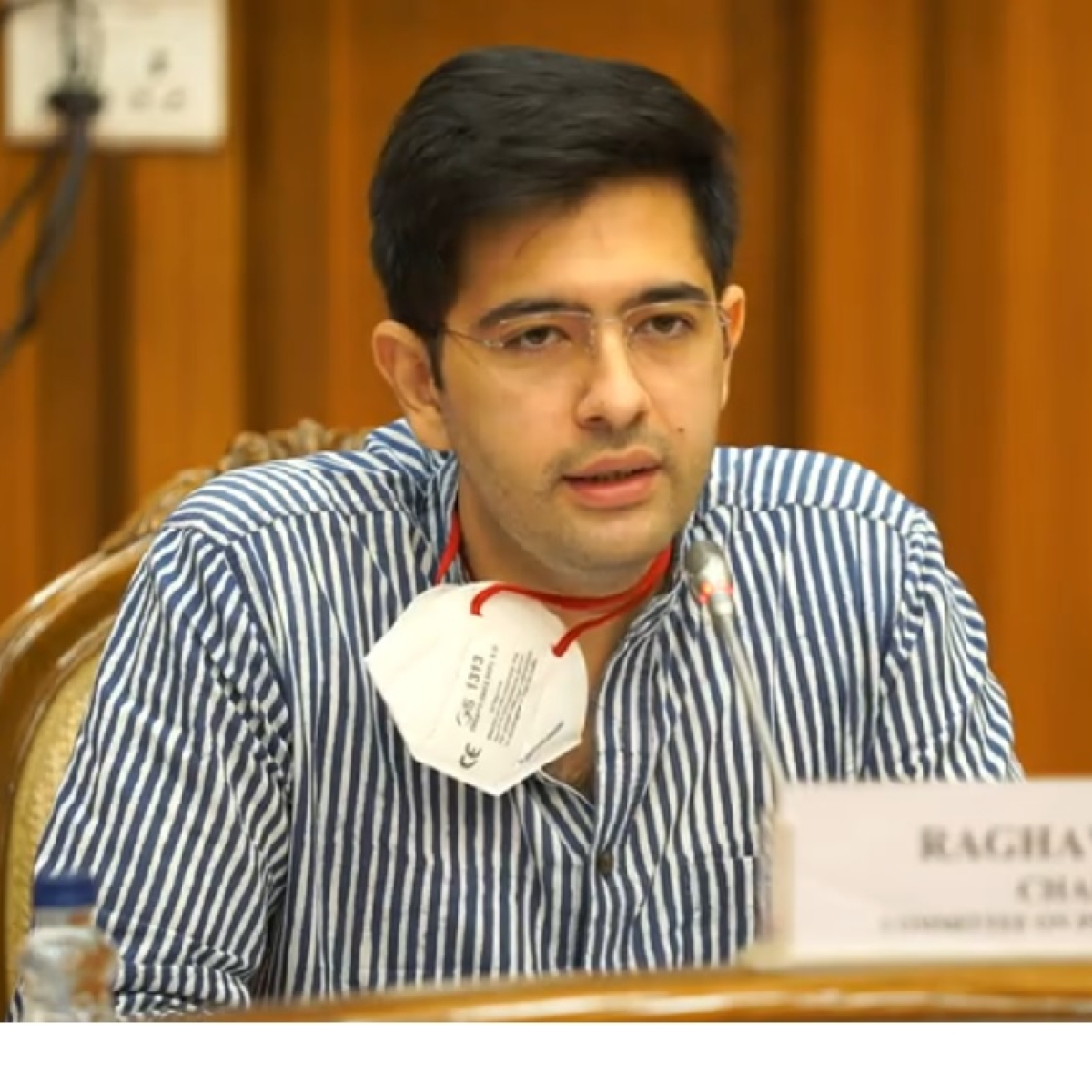Delhi received only 44% of total oxygen requirement, says AAP's Raghav Chadha