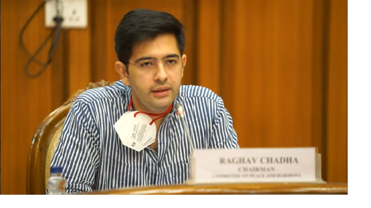 AAP's Raghav Chadha tests positive for COVID-19, in self-isolation