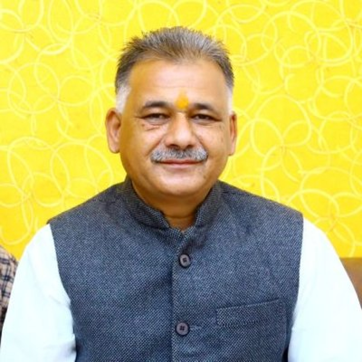 Minister for school education Inder Singh Parmar