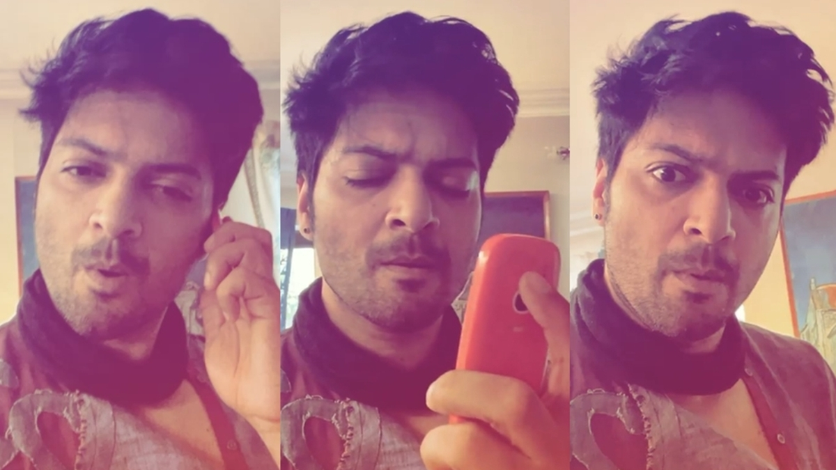 Watch: Ali Fazal cracks his phone while making first-ever reel on Instagram