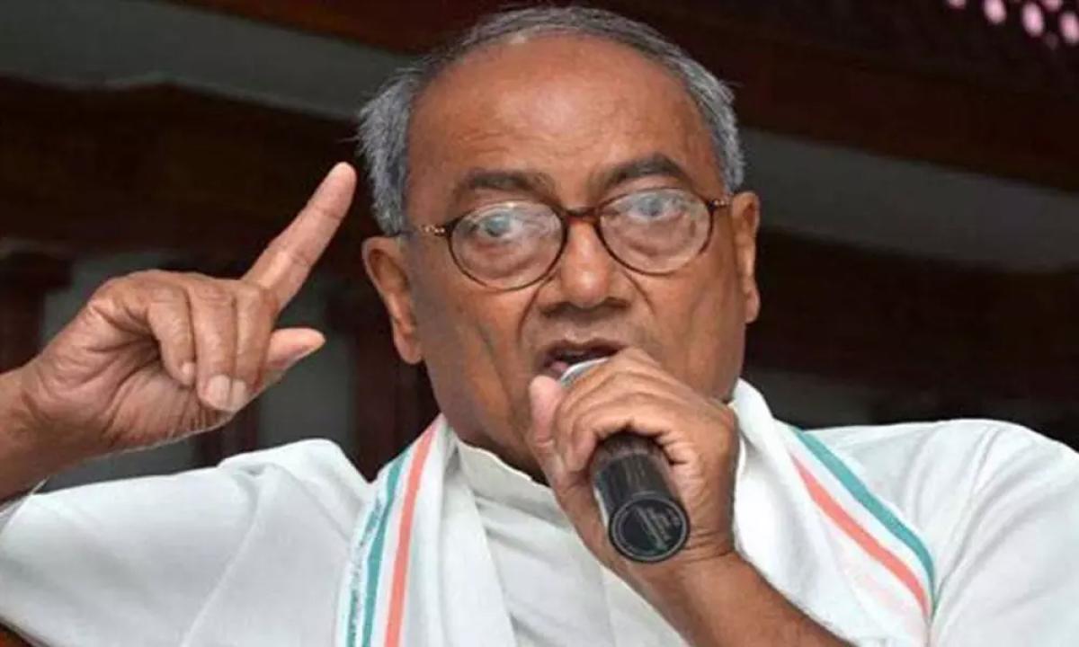Madhya Pradesh: RSS demolishing democracy in nation: Digvijaya Singh