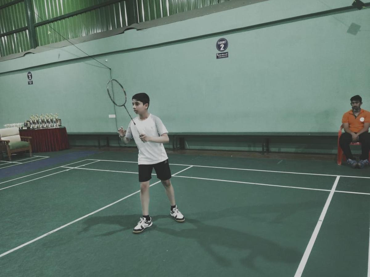 Indore: Anushka, Bhakti, Rajas, Dhimahi, Rakshan, Siddhant in final of sub-junior badminton tournament