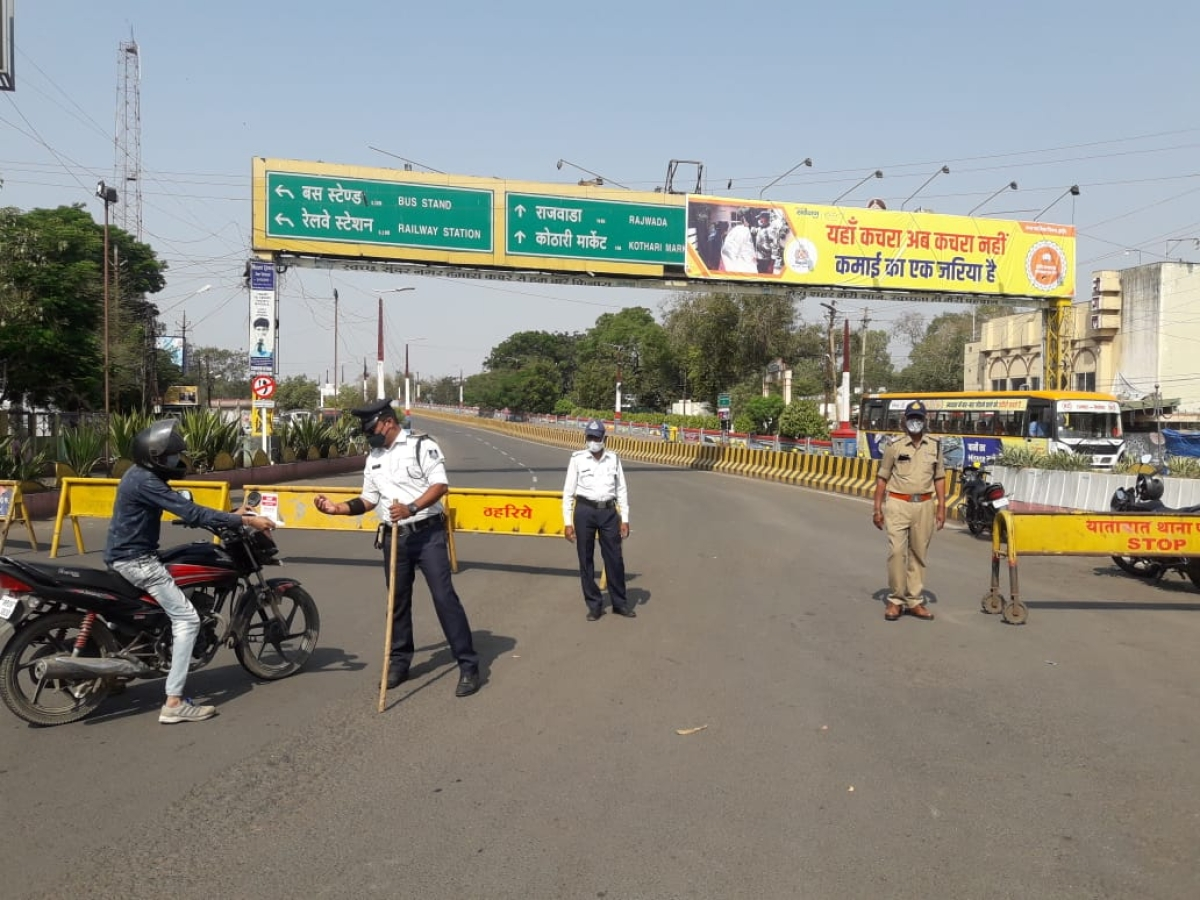 In pictures: Lockown in Bhopal, Indore and Ujjain on Sunday