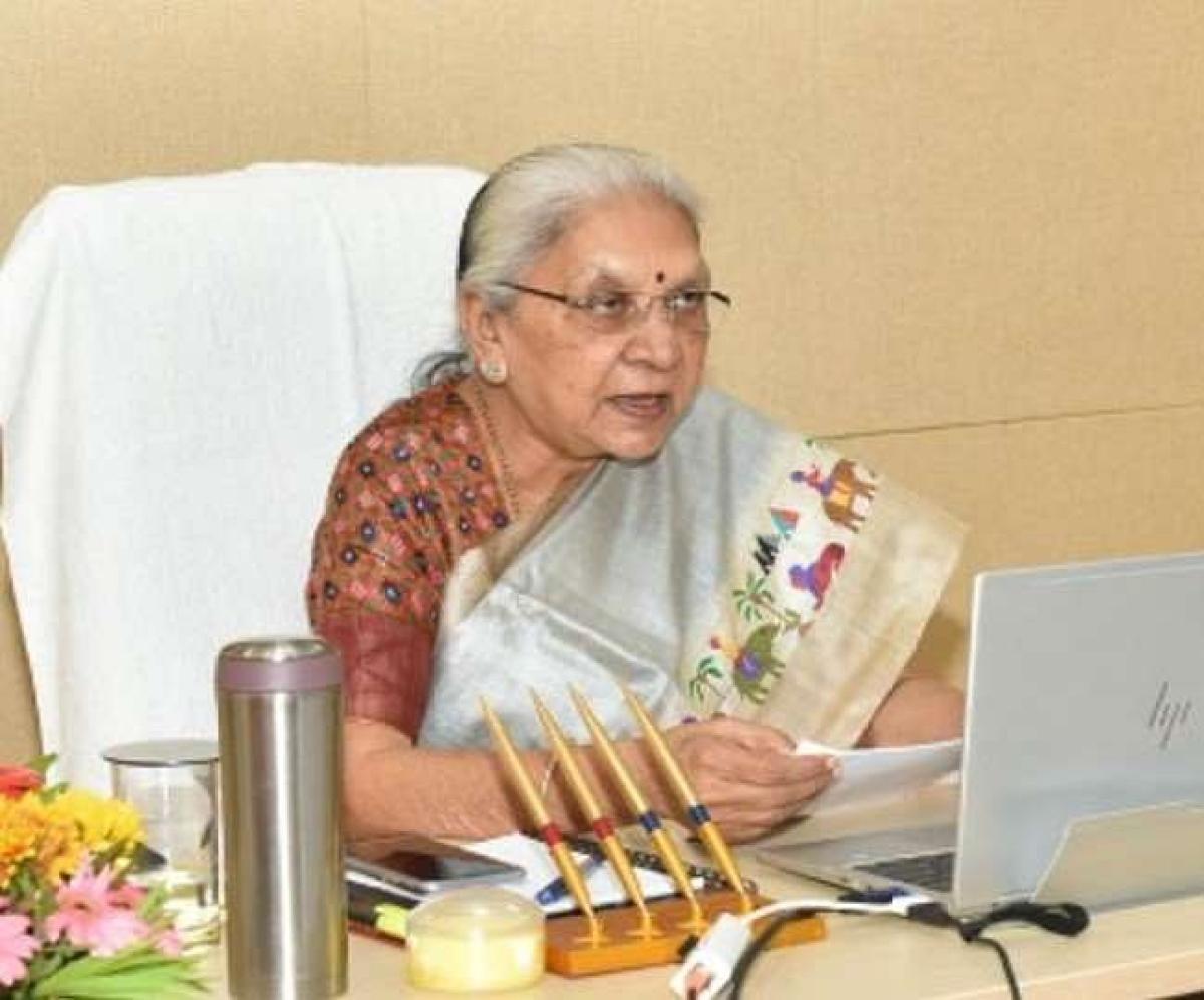 People should, themselves, enforce curfew, says Madhya Pradesh Governor Anandiben Patel