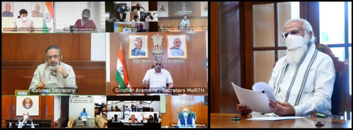 Ensure faster transportation of oxygen to the states: PM Modi holds high-level meeting on oxygen supply and availability