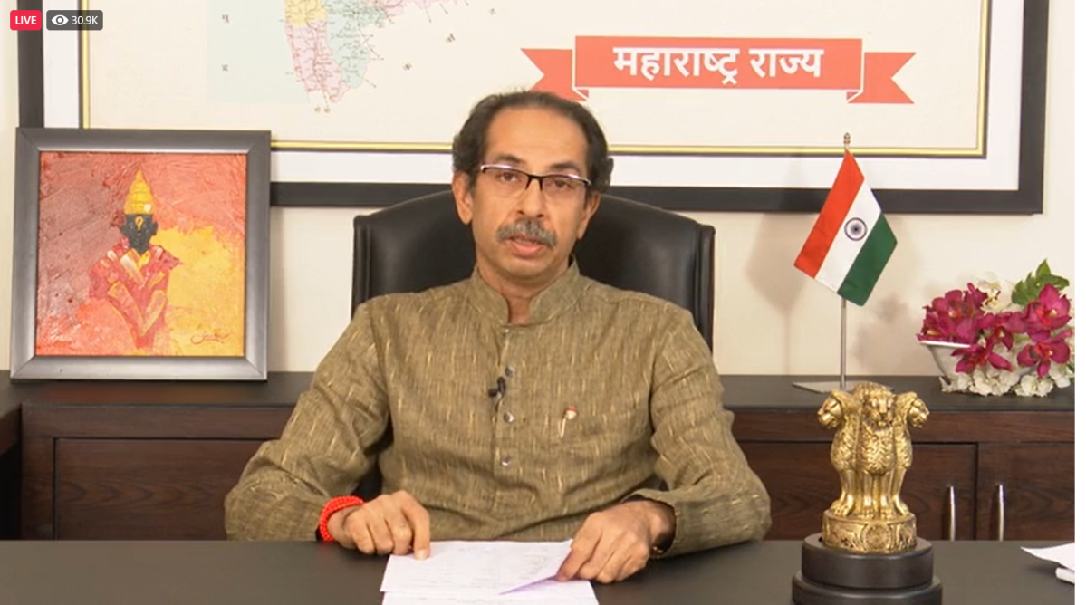 Lockdown-like restrictions helped curb daily spike in COVID-19 cases in Maharashtra: Uddhav Thackeray