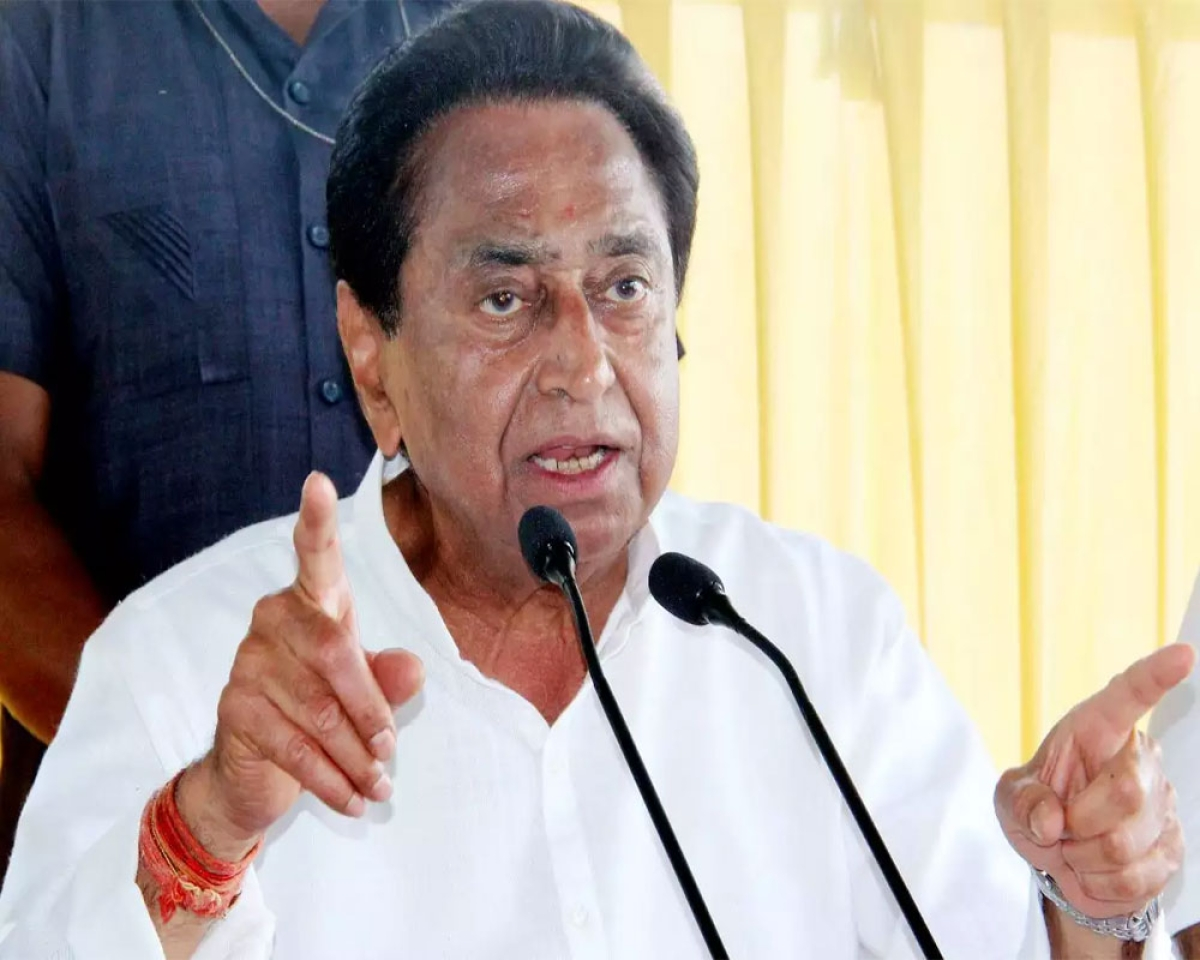 Madhya Pradesh: Remdesivir injections given to BJP workers, they're black marketing it: Kamal Nath