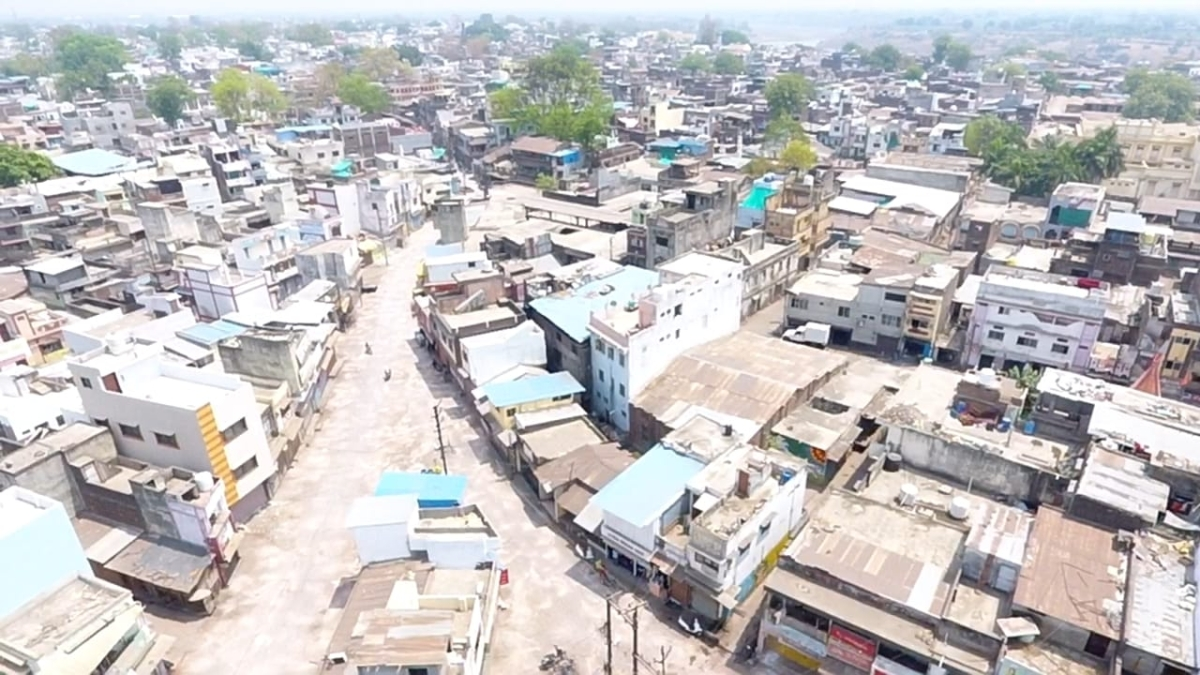 A view of Burhanpur city during lockdown