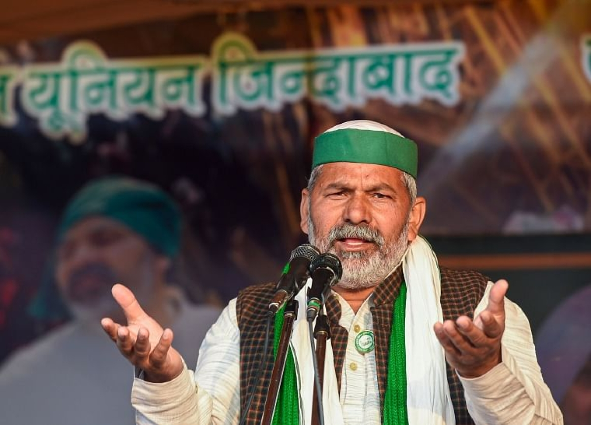 Rakesh Tikait says won't end farmers stir even if there is nationwide lockdown