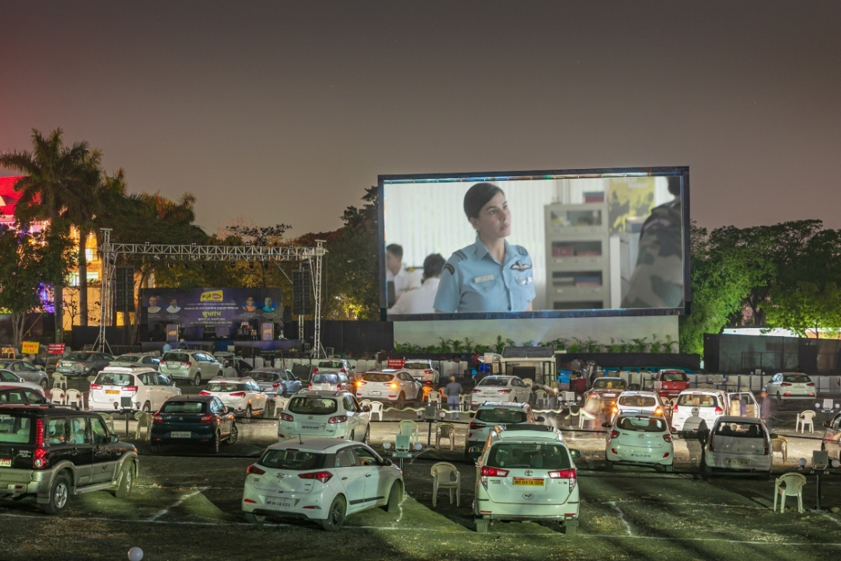 Drive-in cinema to be made into dive-in vaccination centre