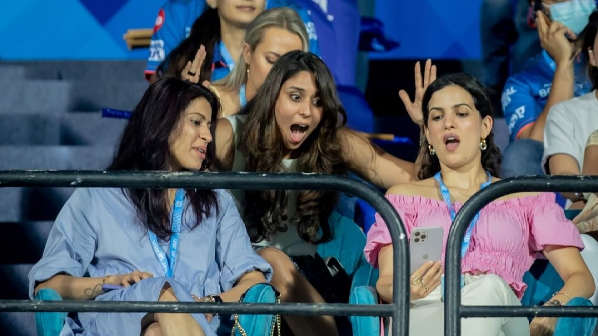 IPL 2021: What made Natasa Stankovic and Ritika Sajdeh's jaws drop during KKR vs MI match?
