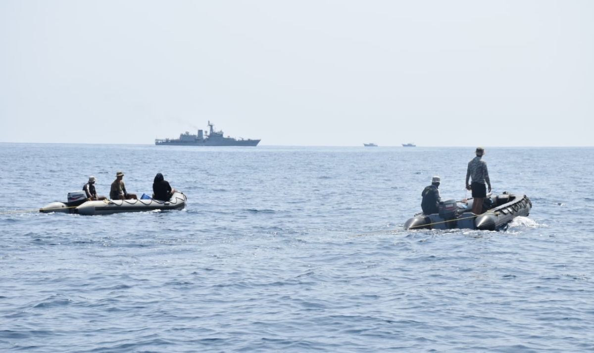 IFB Rabah collision: Navy augments SAR to search nine missing fishermen